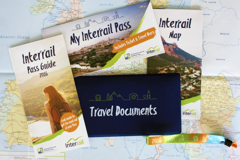 Interrail Travel Pack