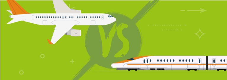Plane vs train masthead desktop