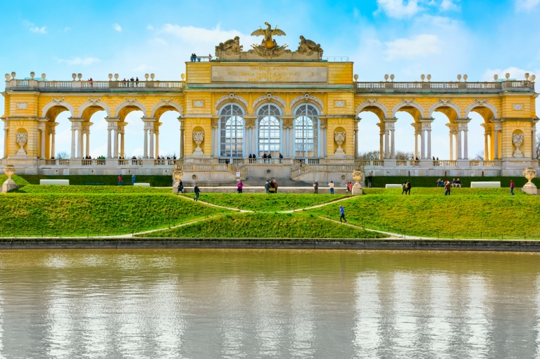 Gloriette in the Schonbrunn Garden