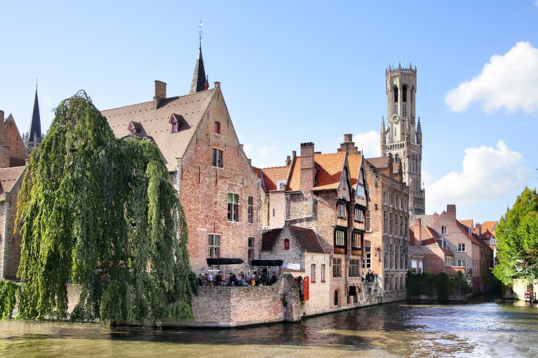 Historic buildings in Bruges