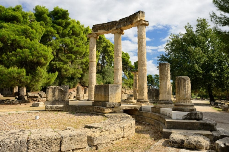 Ancient ruins in Olympia | Ancient History Tour