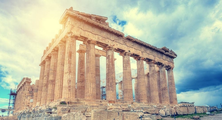 The Parthenon in sunlight | Ancient History Tour