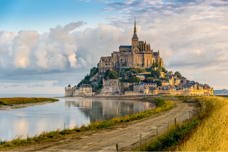 The Mont Saint-Michel in Normandy