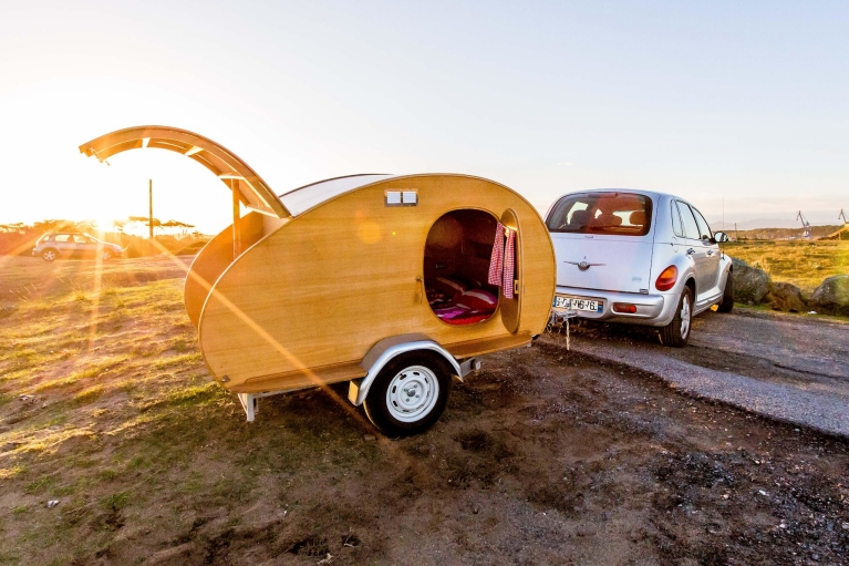 Airbnb caravan accommodation