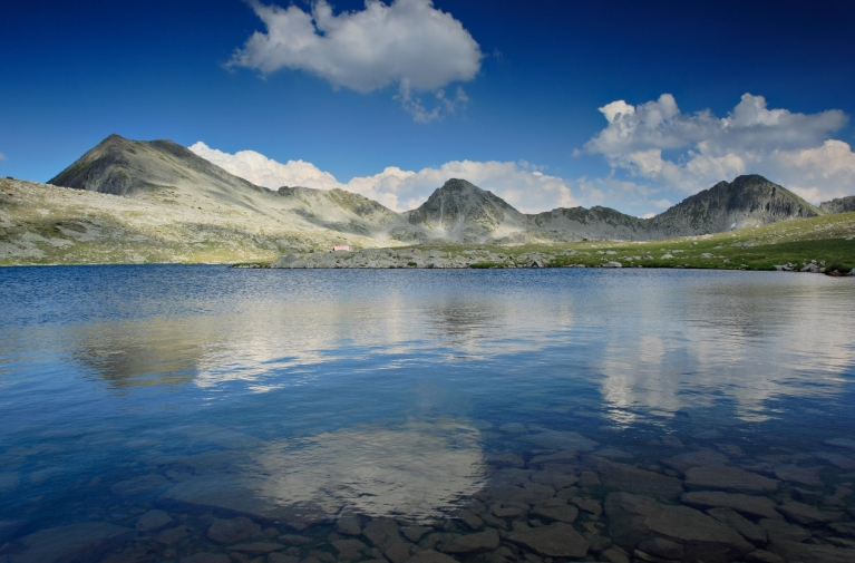 Glacial lake in Pirin National Park