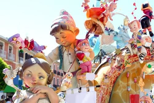 las_fallas_sculptures_in_valencia