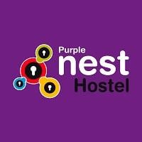 logo purple nest hostel