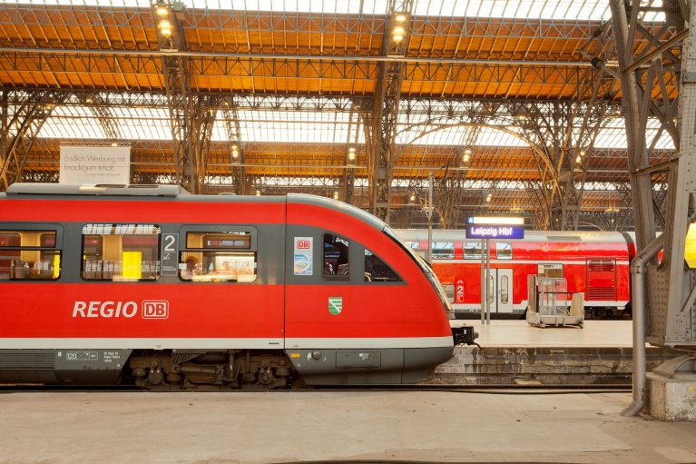 Regional Express train, Leipzig, Germany