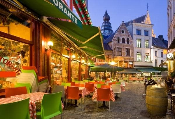 Restaurants à Anvers, en Belgique