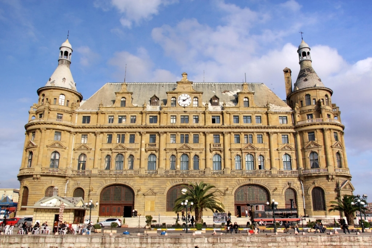 Haydarpasa station in Istanbul