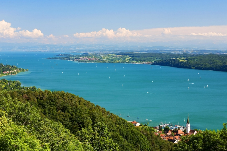 View of Lake Constance