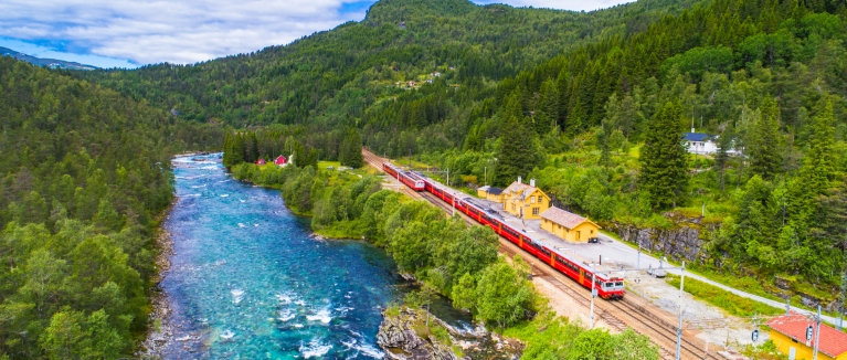 Bergen Railway in Norway