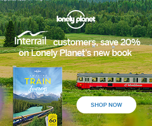 Interrail Lonely Planet Train Journeys 300x250